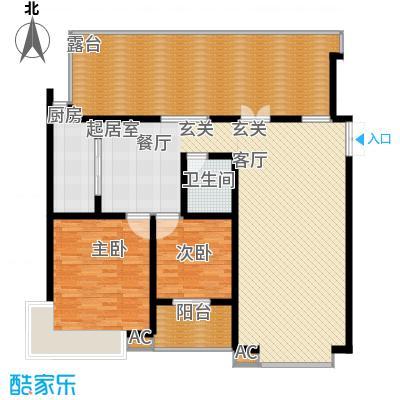 天江格调花园122.21㎡面积12221m户型