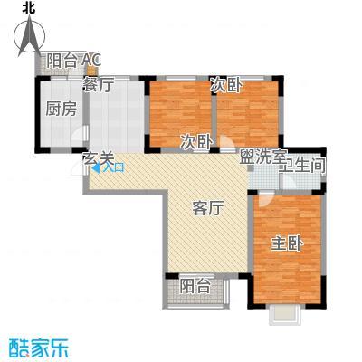 正馨佳居129.08㎡1号楼标准层03户型