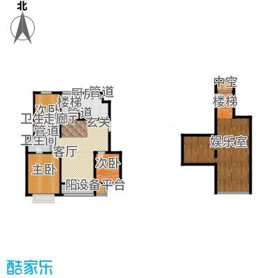 吉宝季景兰庭214.00㎡洋房底层户型