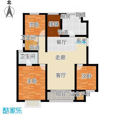 吉宝季景兰庭235.00㎡洋房3B1-L-F2首层户型