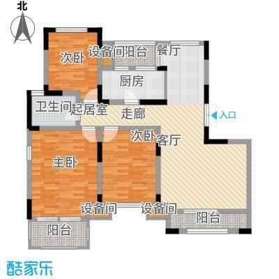 远景上邑1558117.00㎡高层15-24号楼四层户型