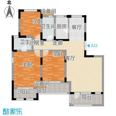 远景上邑1558128.00㎡高层15-24号楼三层户型