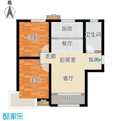 中建御景华庭94.00㎡二期高层7号楼标准层A户型