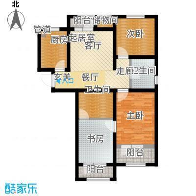 北辰新天地盛景湾114.00㎡高层19号楼3-10层C5户型