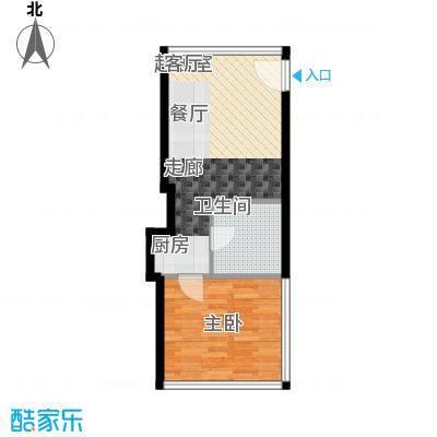 融创奥城领峰酒店式公寓1B-T5户型