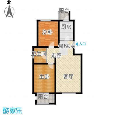 弘泽天泽112.00㎡二期洋房13#标准层户型