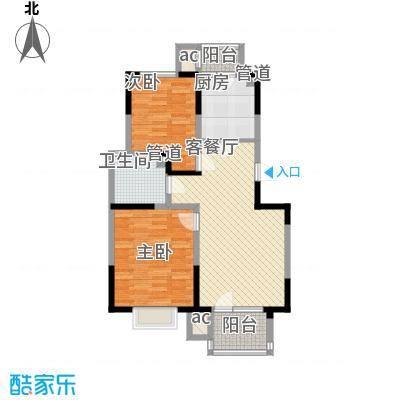 福源九方92.00㎡小高层标准层A4户型