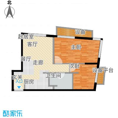 天津大悦城悦府Ⅱ期85.90㎡3号楼6-25层01户型