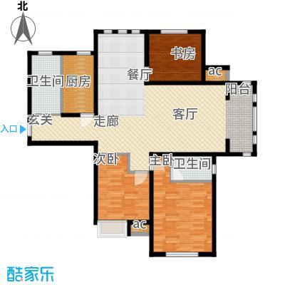 泰达御海140.28㎡小高层16、19号楼标准层H3户型