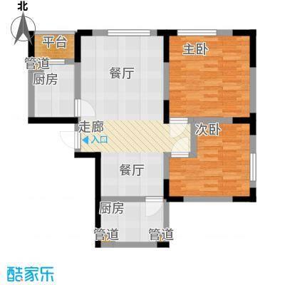 智造创想城88.04㎡10、14、18号楼标准层c1户型