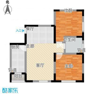 智造创想城96.95㎡10、14、18号楼标准层c2户型