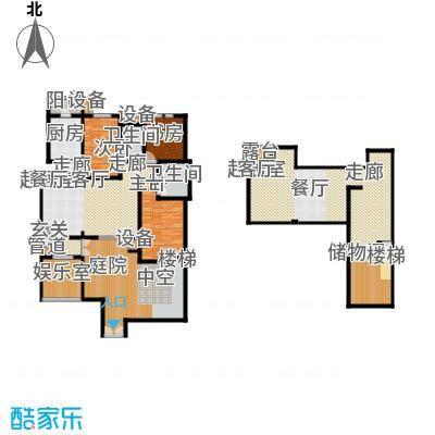 世嘉133.26㎡洋房37、38号楼一层H7户型