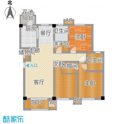 建投领海三期139.00㎡洋房标准层跃层D4户型