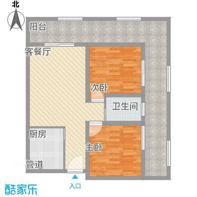 海吉星星世界94.43㎡一期公寓标准层C、F户型