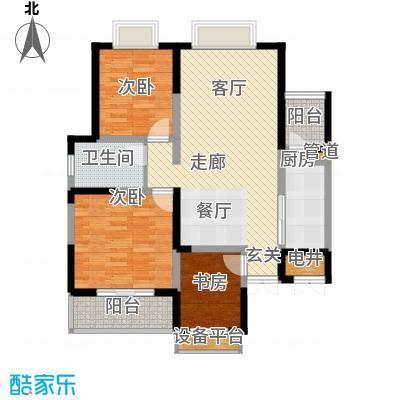 旺东盛园3居室户型