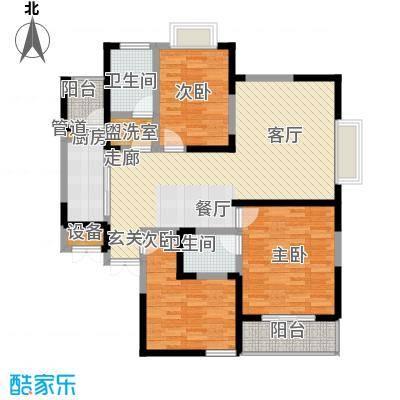 旺东盛园134.00㎡3居室面积13400m户型