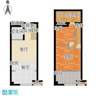 公馆星期862.09㎡1号楼高层标准层A1-01户型