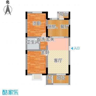 正馨佳居97.10㎡3号楼标准层01户型