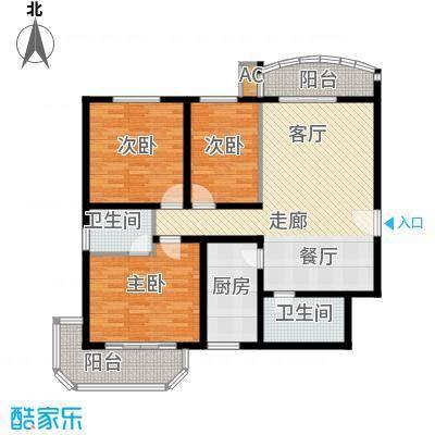 华山黄河河务局宿舍116.00㎡黄河面积11600m户型