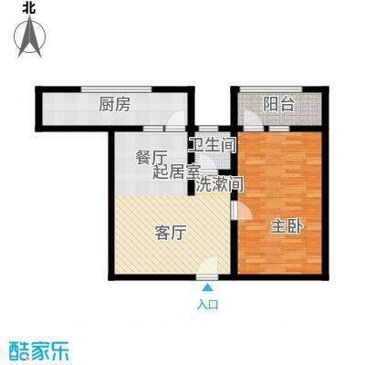 兴隆石榴园68.70㎡G面积6870m户型