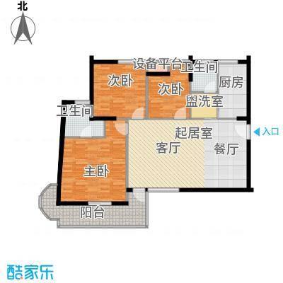 金福世家143.51㎡面积14351m户型