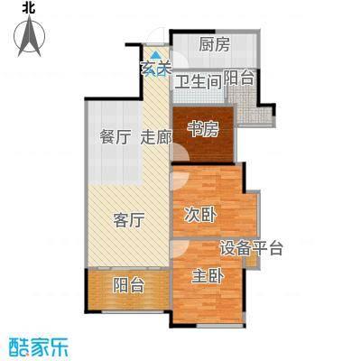 佛奥俊贤雅居88.58㎡14-17号楼8面积8858m户型