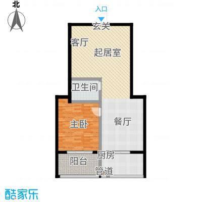 金石鑫小区92.00㎡A面积9200m户型