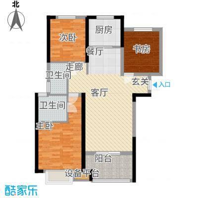 省石油公司宿舍3户型