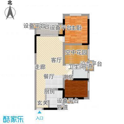 省石油公司宿舍2户型
