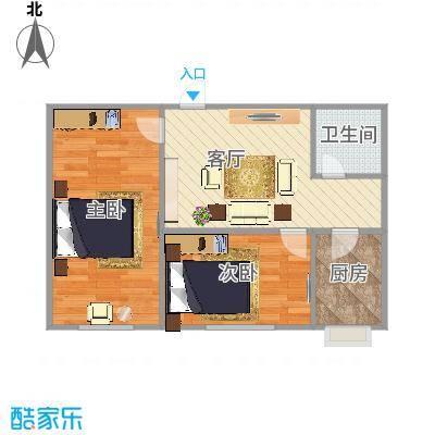 锦绣庄6号楼5单元中户52平米