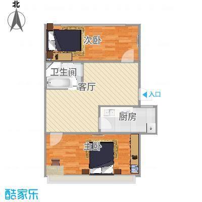 槐荫苑1号楼1单元西户55平米