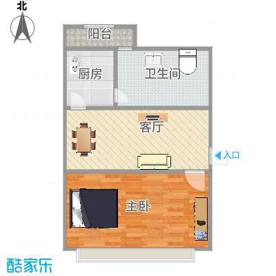 流碧园2号楼3单元西户44.51平米