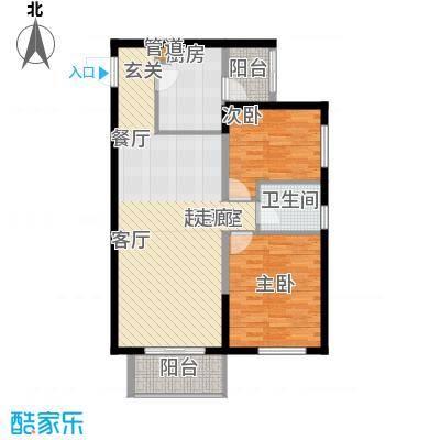 阳城汉江苑户型