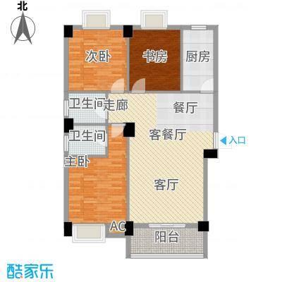 硚口金利屋131.00㎡�口金利屋一期B33面积13100m户型
