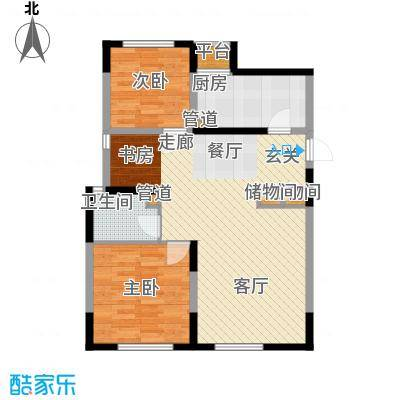 智造创想城96.30㎡10、14、18号楼标准层c3户型