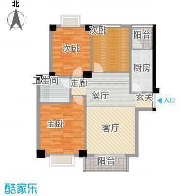 景江御水天成106.48㎡C面积10648m户型