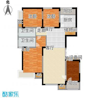 二七新村街道办事处宿舍4居室户型
