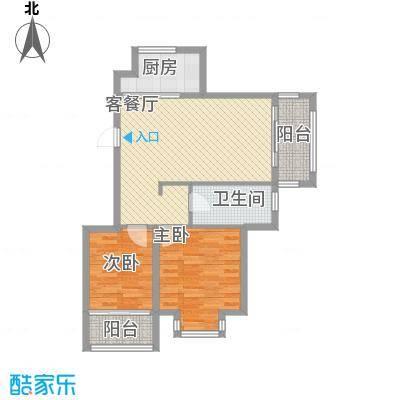 溪翠苑2212户型