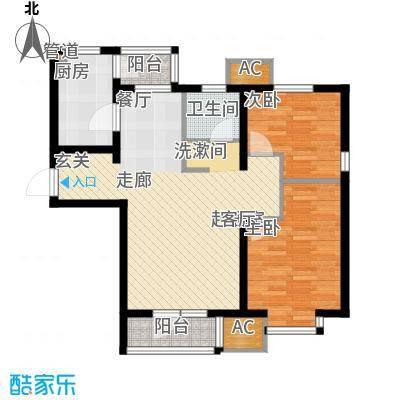 渤海天易园93.97㎡小高层标准层03户型