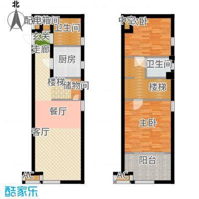 公馆星期873.23㎡1号楼高层标准层A4-01户型