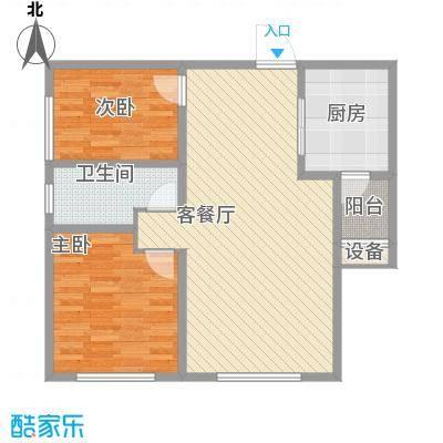 华纳瑞都小区98.60㎡高层4号楼标准层B户型