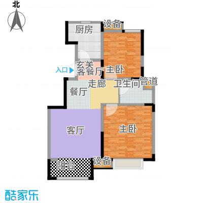 中交上东湾93.00㎡洋房顶层D-01户型