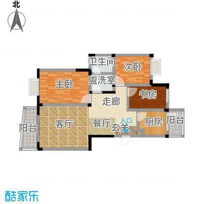 阳城景园117.84㎡面积11784m户型