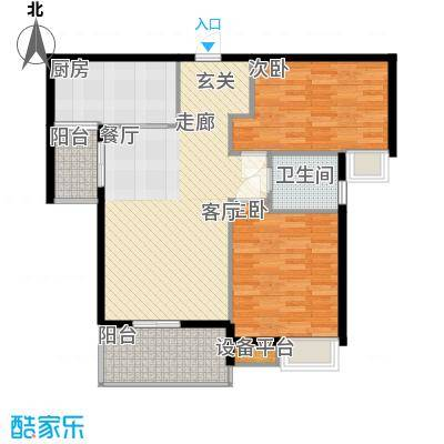 金太阳米兰小镇90.20㎡2期D2面积9020m户型