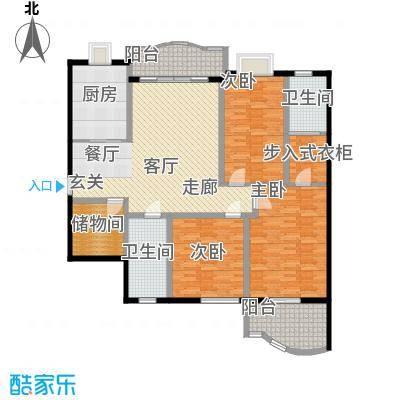 东方江景园142.94㎡面积14294m户型