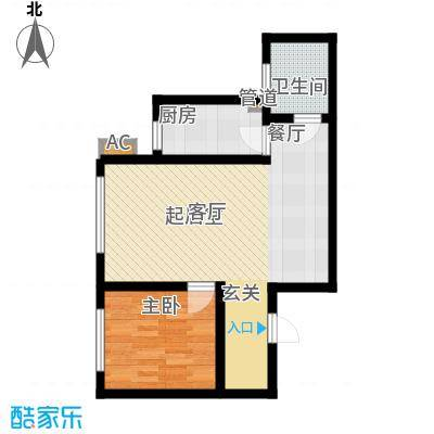 中行济南分行宿舍121户型