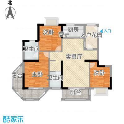 西十里河单位宿舍3居室户型