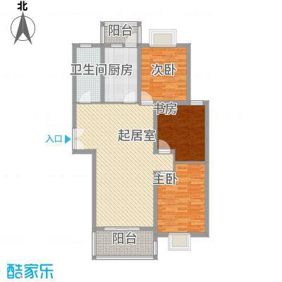 周庄新园3居室户型