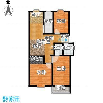 西杨家园115.00㎡面积11500m户型