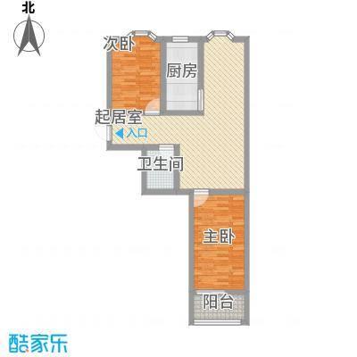 西杨家园89.00㎡面积8900m户型